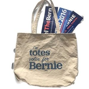 Handbags - Bernie Tote and Stickers